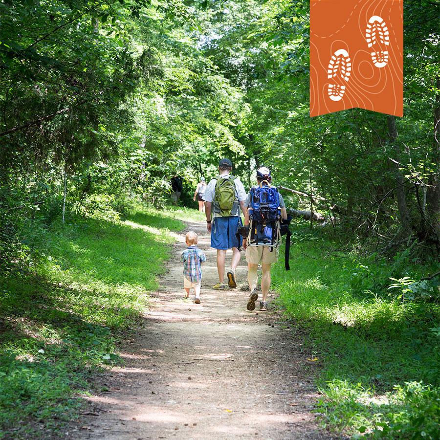Family Hiking Carolina thread trail