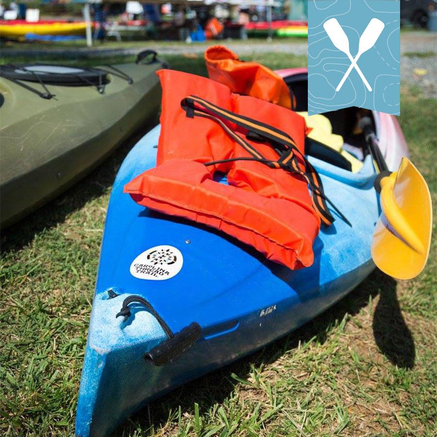 Kayaking National Trails Day