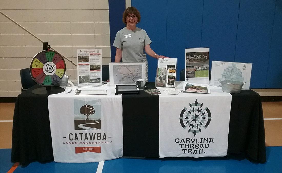 Janet Fredrick Carolina Thread Trail Volunteer Spotlight
