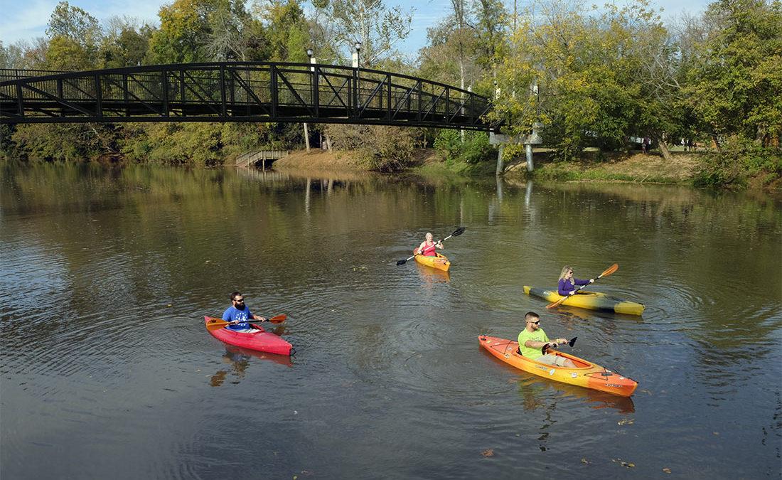 Kayaks SouthFork Carolina Thread Trail